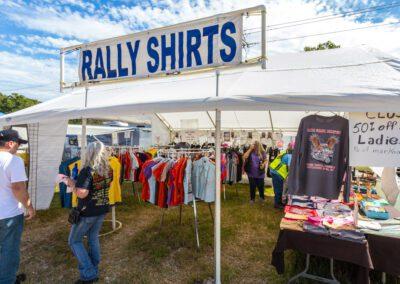 Rally Shirts at Vendor Village