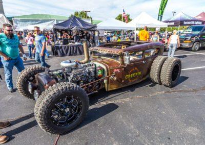 Creepin rebuilt car