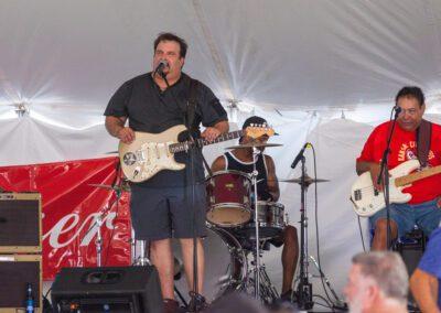 Band playing at Bikefest