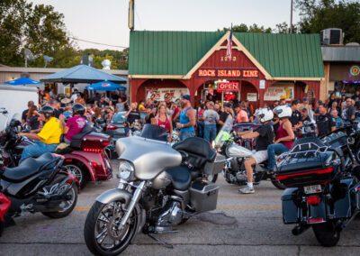 Bikefest at Rock Island Line