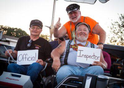 Official Inspectors for Bikefest